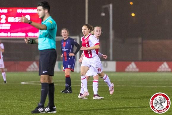 2018-01-26 Ajax vrouwen - VV Alkmaar- 00015