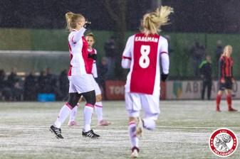 2018-02-09 Ajax vrouwen - Excelsior Barendrecht- 00005