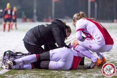 2018-02-09 Ajax vrouwen - Excelsior Barendrecht- 00017