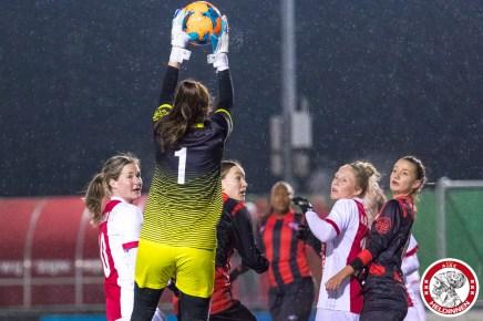 2018-02-09 Ajax vrouwen - Excelsior Barendrecht- 00019