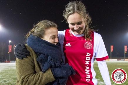 2018-02-09 Ajax vrouwen - Excelsior Barendrecht- 00023