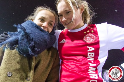 2018-02-09 Ajax vrouwen - Excelsior Barendrecht- 00024