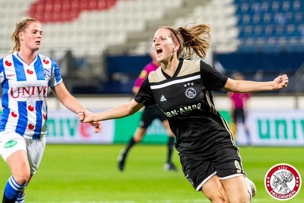 2018 10 12 SC Heerenveen vrouwen Ajax 00027