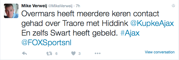Tweet-Mike-Verweij-Transfer