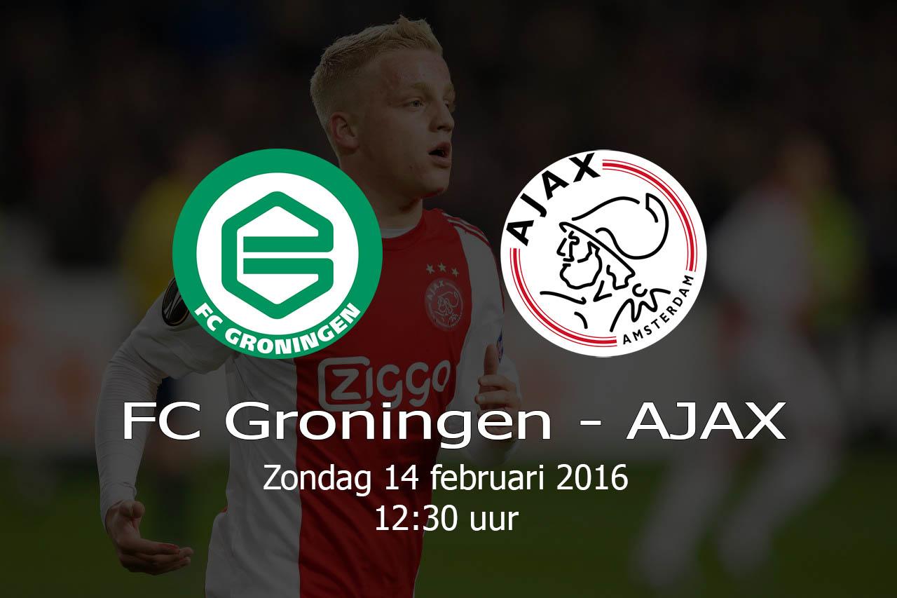 FC Groningen – AJAX – 20160214