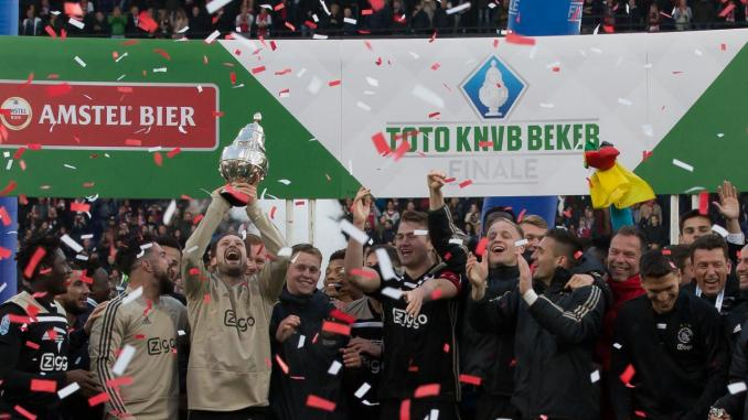 Ajax wint bekerfinale 2019