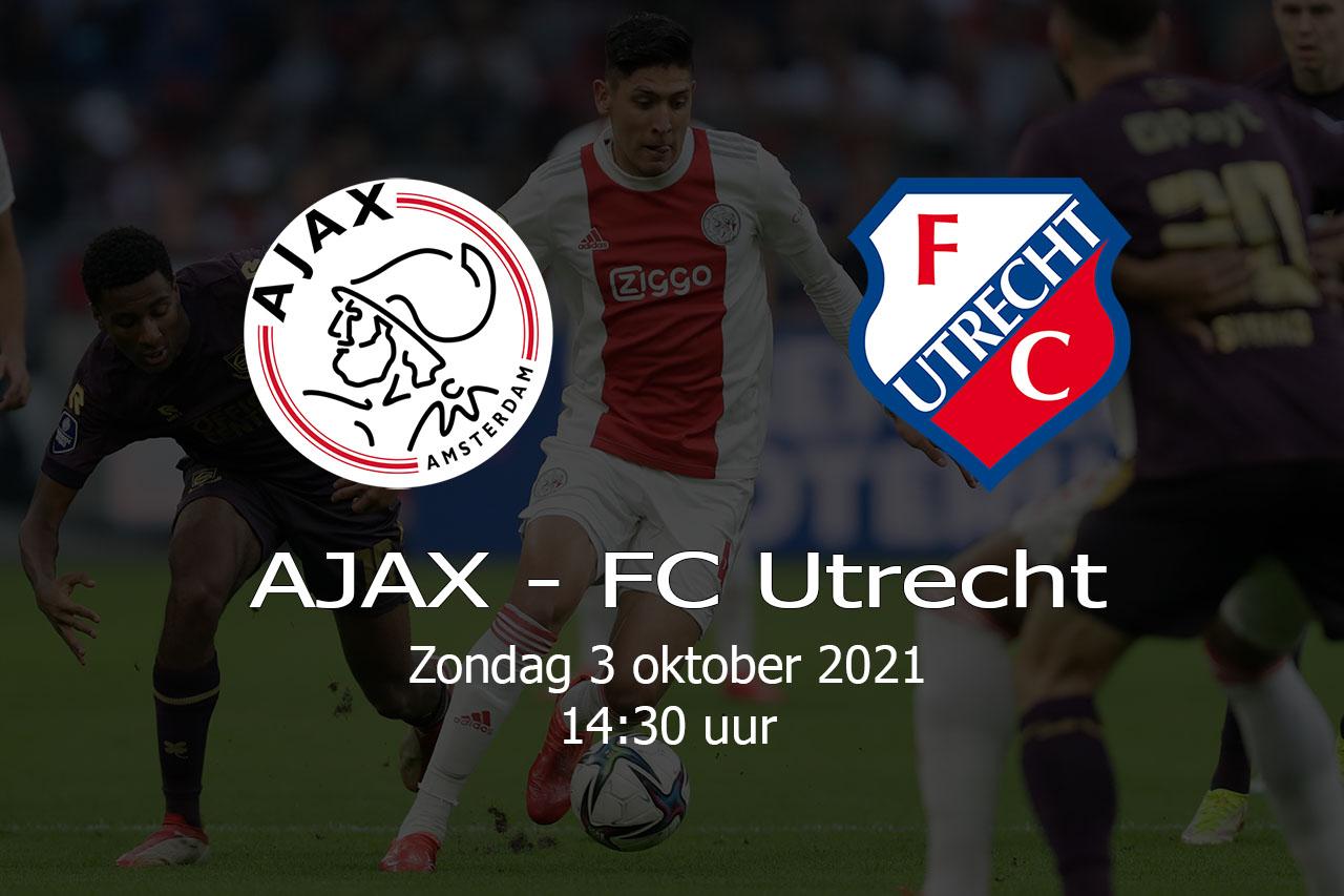 AJAX – FC-Utrecht – 20211003
