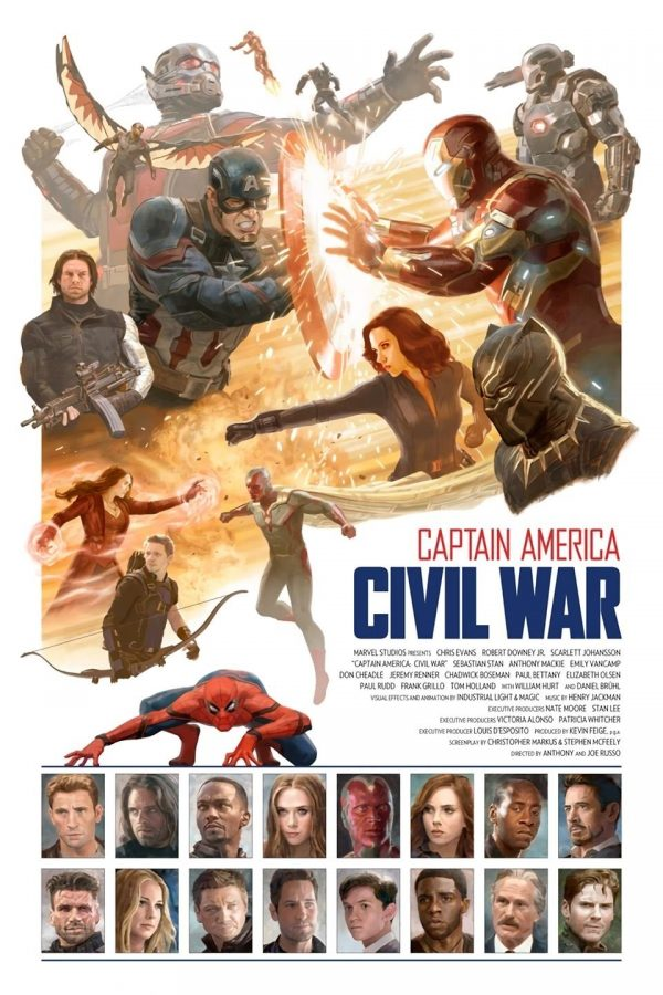 Am văzut Captain America: Civil War