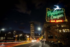 There is nothing like the night life and hustle-and-bustle of old town Portland.
