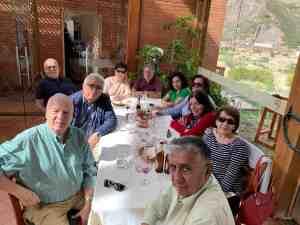 IDB Representative Lunch in Bolivia