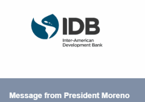 Message from President Moreno