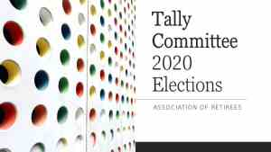 Tally Committee 2020 Elections