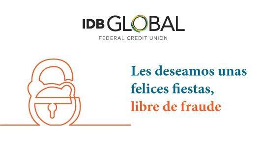 IDB Global - Les deseamos unas felices fiestas, libres de fraude