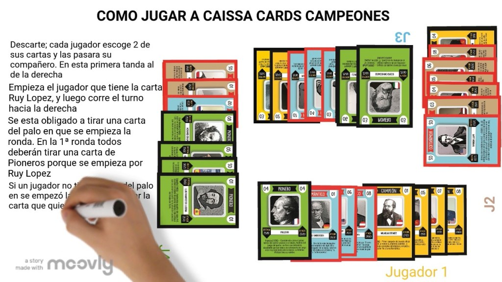 caissacards ajedrez educativo