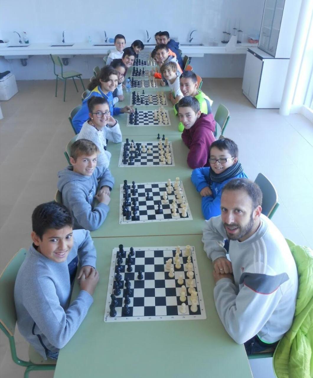 ajedrez escolar almudevar