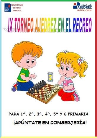 IX Torneo de ajedrez de los recreos Marie Curie