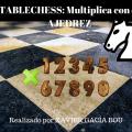 TABLECHESS:multiplica con el ajedrez