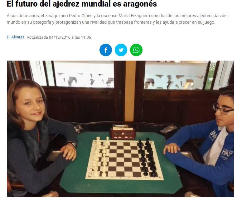 CAMPEÓN DEL MUNDO DE AJEDREZ SUB 14