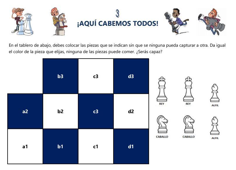 ¡AQUÍ CABEMOS TODOS 3!