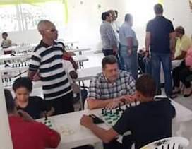 Ajedrez en el Barrio Club Los Guaricanos