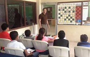 Clase a talentos menores de 13 años Proyecto Rafael Damirón 06/2016