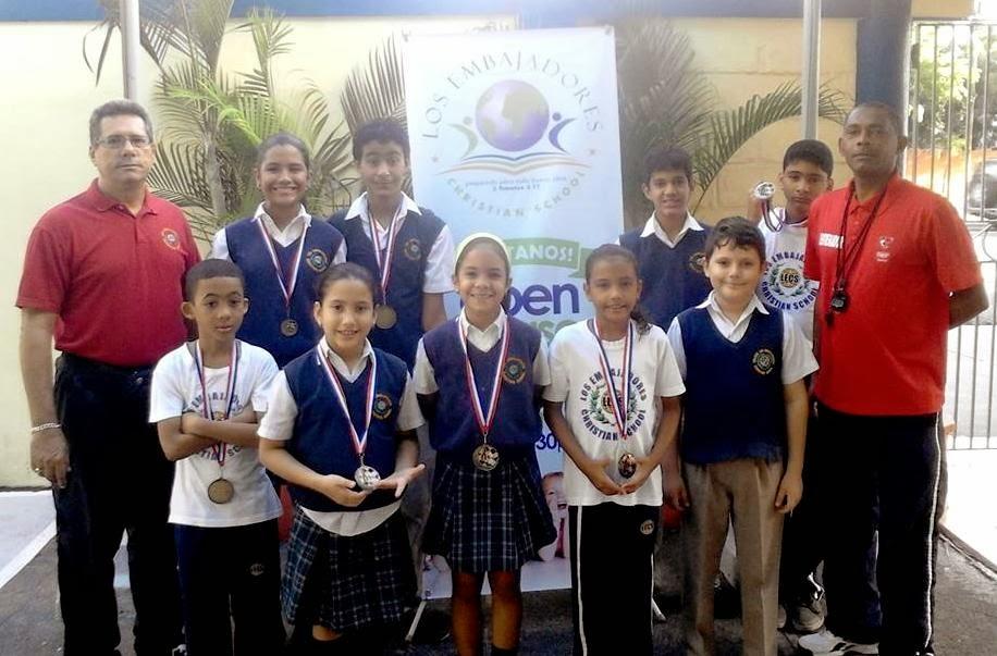 Colegio Los Embajadores, Campeones Liga Intercolegial 2014