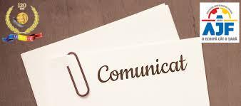 Comunicat: Comisia de disciplina 16.05.2019