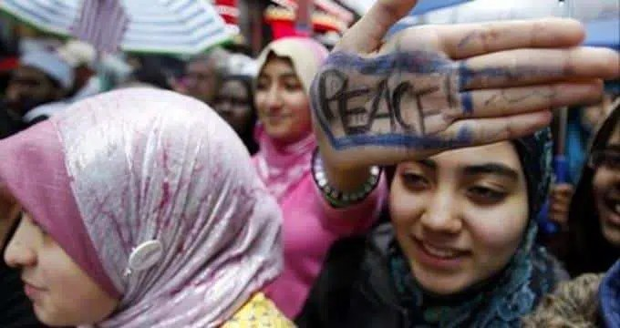 hijab PEACE