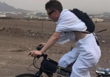 cycliste russe makkah