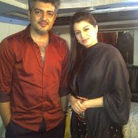 Thala's dances with the sexy siren Kainaat Arora