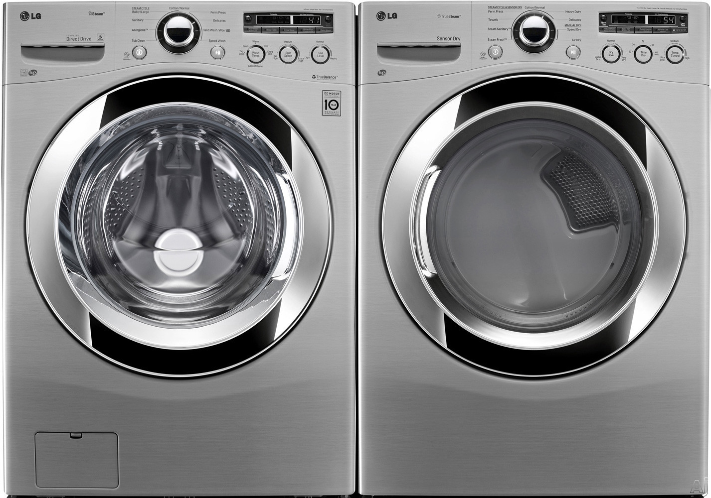 Lg Lg Fl Lg Series Front Load Washer Dryer Pair
