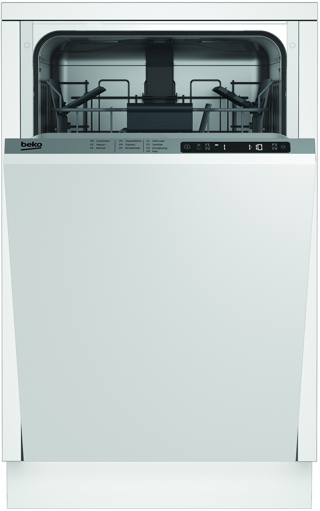 Beko Dis25842 18 Inch Fully Integrated Panel Ready Dishwasher With
