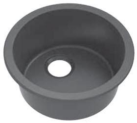 elkay mystic e granite collection 18 inch universal mount bathroom sink