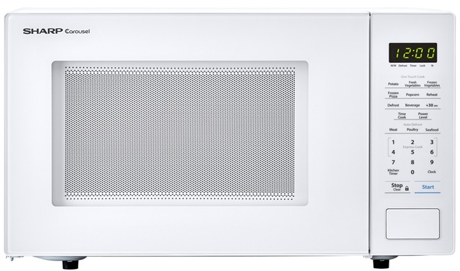 sharp 21 inch 1000w countertop microwave
