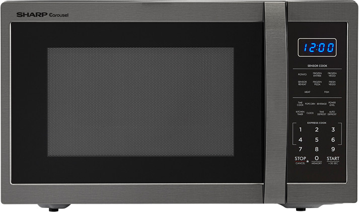sharp 1 4 cu ft countertop microwave oven