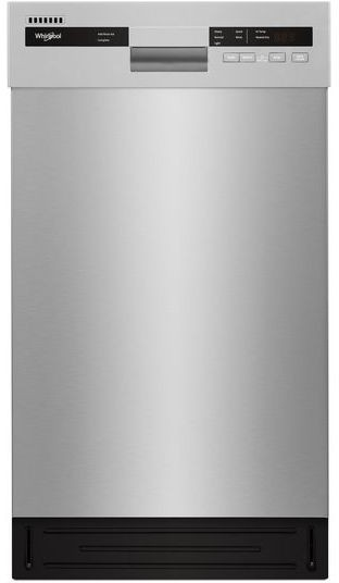 Whirlpool Wdf518sahm 18 Inch Full Console Dishwasher With Cycle