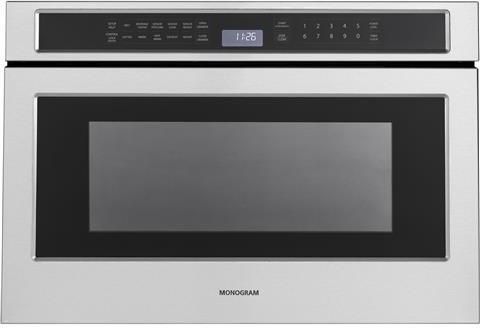 monogram 24 inch microwave drawer