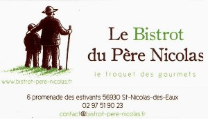 Le Bistrot du Père Nicolas - St-Nicolas-des-Eaux