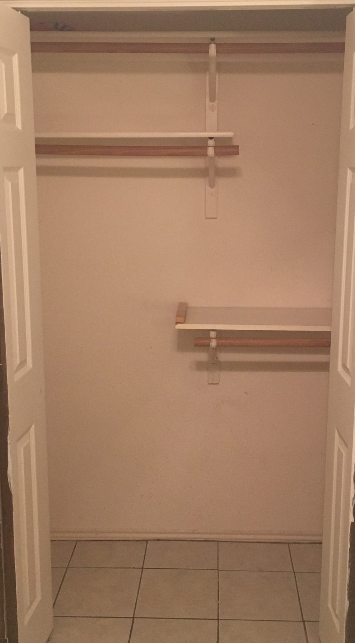 A Jones For Organizing A Simple Reach In Closet Improved