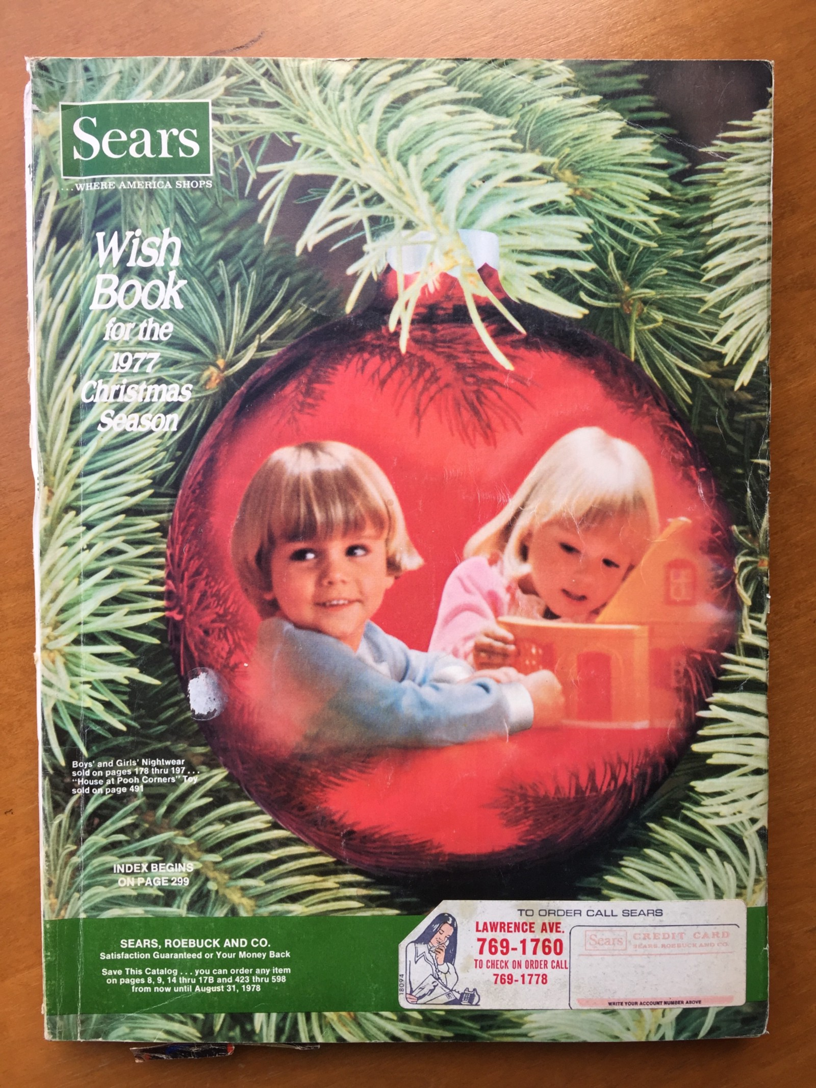 296131da1 A Journal of Musical ThingsRewind to 1977: The Sears Christmas Wishbook - A  Journal of Musical Things