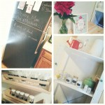 DIY Chalkboard Fridge