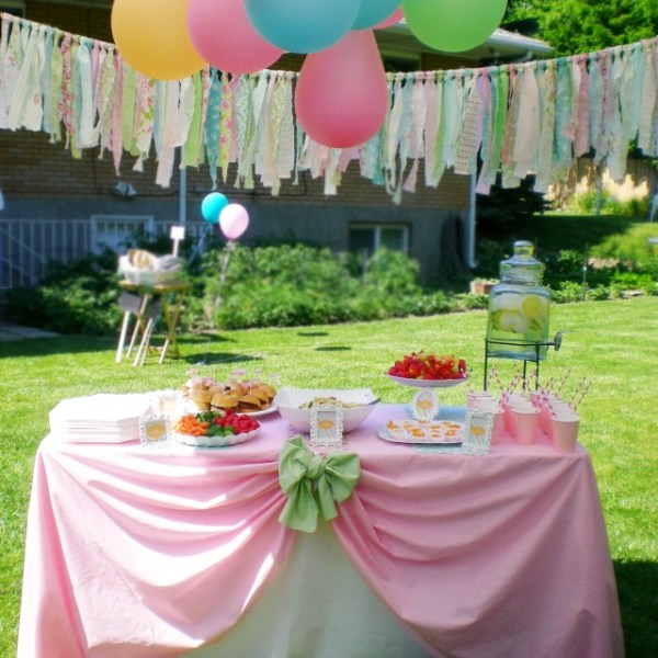 A Vintage Carnival Preemie Baby Shower