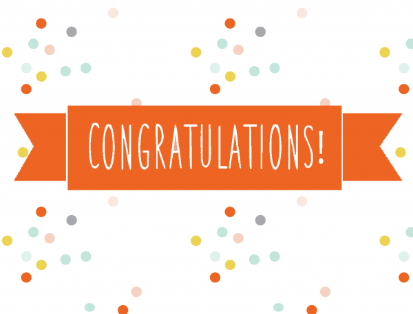 Congratulations Card | Free Printable Friday
