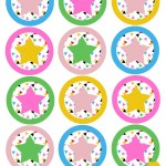 Star Cupcake Toppers | Free Printable Friday