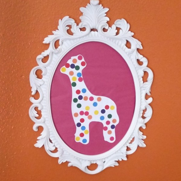 Animal Cookie Wall Art