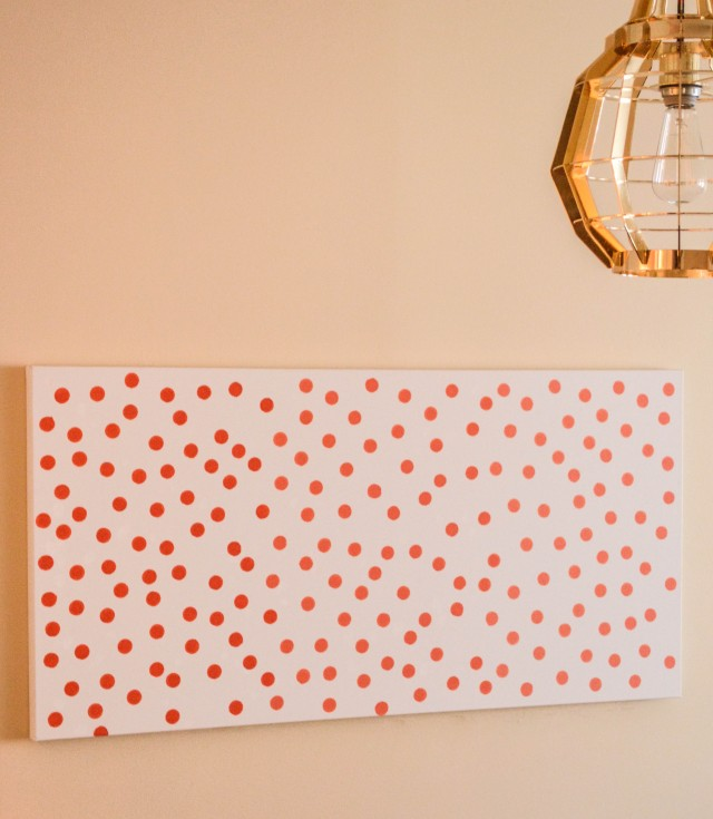 Dotted Ombre Wall Art | A Joyful Riot