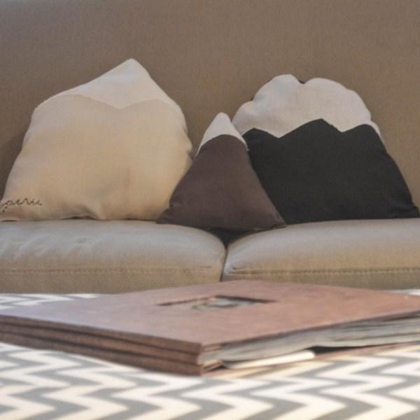 DIY Mountain Pillows