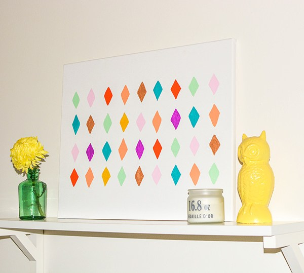 Easy Geometric Wall Art