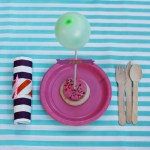 Birthday Cookie Balloon Placecards