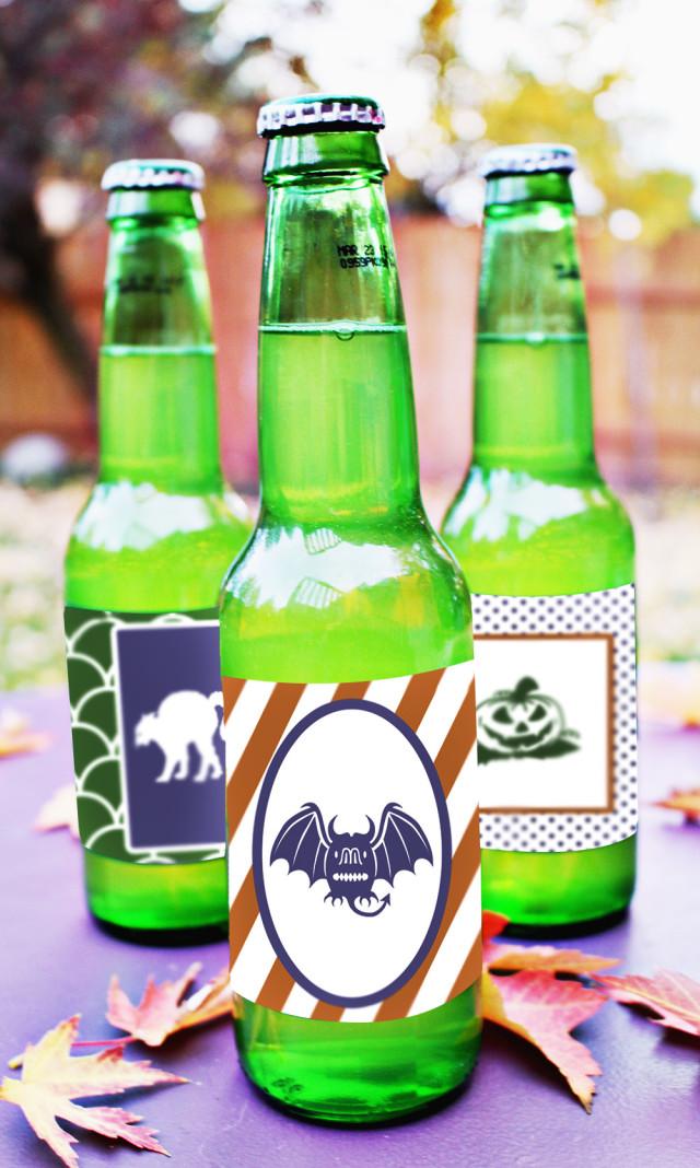 Halloween Soda Pop Labels Free Printable Friday A Joyful Riot